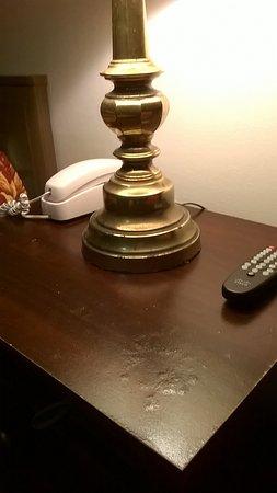 Cornwall, Estado de Nueva York: bedside table & lamp