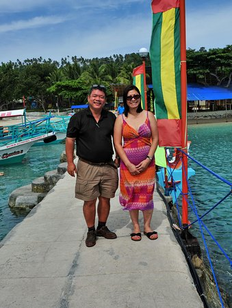 Paradise Island Park & Beach Resort: On the pier for small ferry boats.