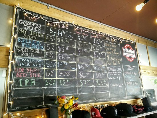Gibsons, Canada : Persephone Brewing Company