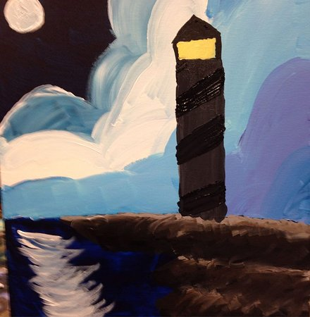 South Amboy, NJ: My first crack at painting :)