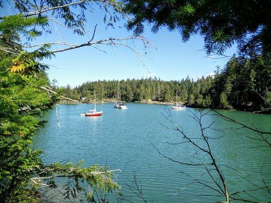 Halfmoon Bay, Canada: Smuggler Cove Marine Provincial Park