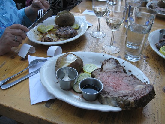 Crescent Lake, OR: Prime Rib and Pork Tenderloin