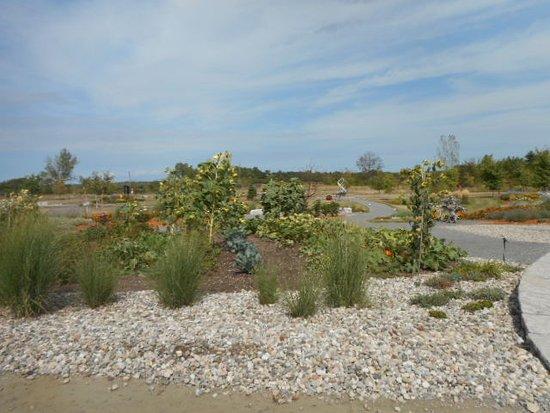 Bloomfield, Canadá: sculptural garden