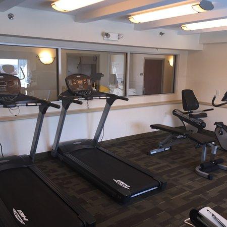 Gold Leaf Hotel Gym