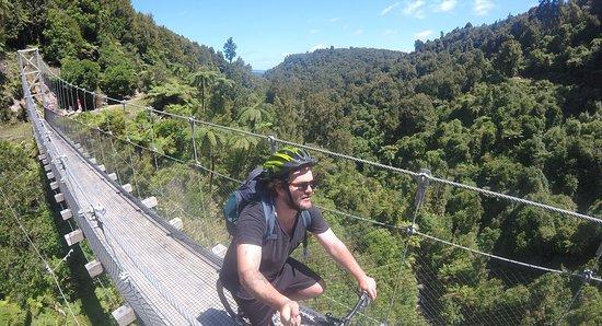 Taumarunui, Nya Zeeland: Mangatukutuku Bridge