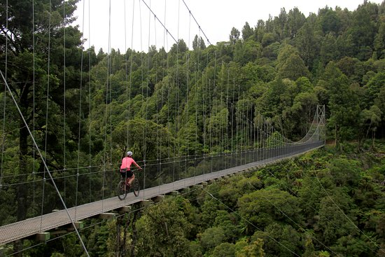 Ongarue, New Zealand: Maramataha Suspension Bridge