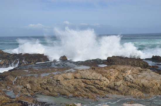 Hermanus, Zuid-Afrika: Surf at Kwaai Water