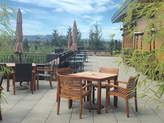 Allison Inn & Spa: Outdoor patio