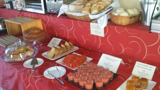 La Joya, España: Breakfast