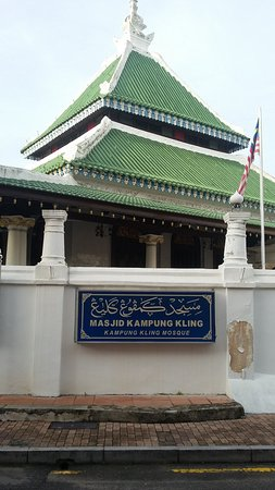 Kampung Kling Mosque : Tampak Depan