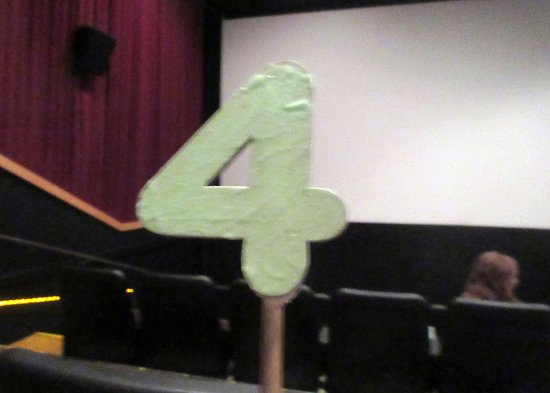 Number - So They Can Deliver Food Order to One's Seat, Sister's Movie House, Sisters, Oregon