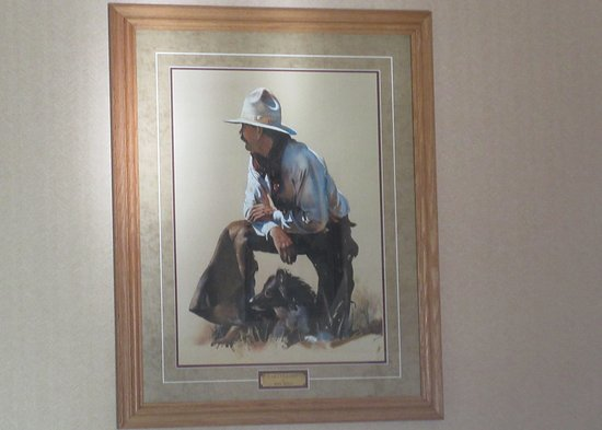 Western Picture in Room, Best Western Ponderosa Lodge, Sisters, Oregon