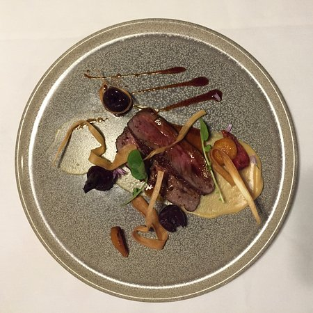 Clayoquot Sound, Canada: Licorice and Cacao Crusted Elk