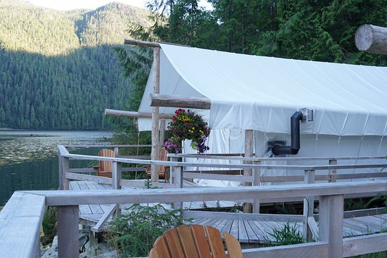 Clayoquot Wilderness Resort: En-Suite Glamping Tent
