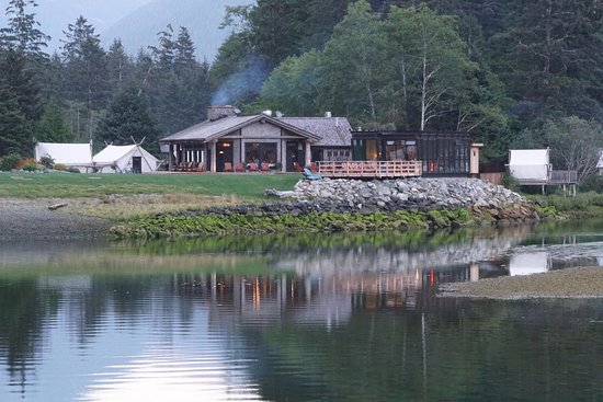 Clayoquot Sound, Canadá: Cook House Restaurant