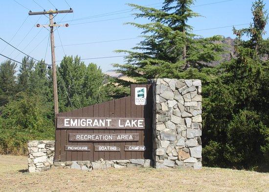 Emirgrant Lake Recreation Area, Ashland, Oregon