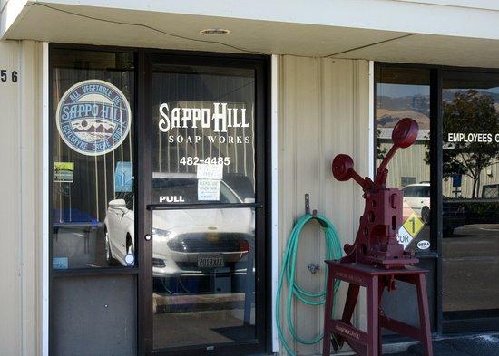 Sappo Hill Soap Works, Ashland, Oregon