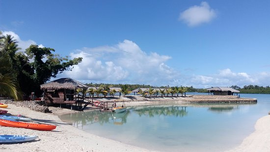 Aquana Beach Resort: The lagoon beach, beautiful!