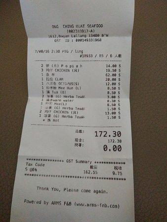 Butterworth, มาเลเซีย: bill for price indicator