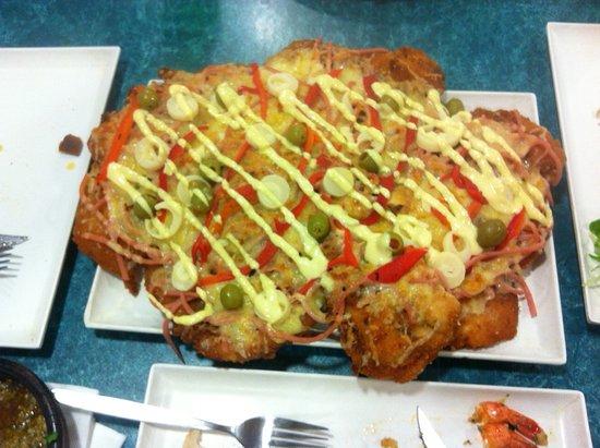 Marrickville, Australia: Montevideama schnitzel