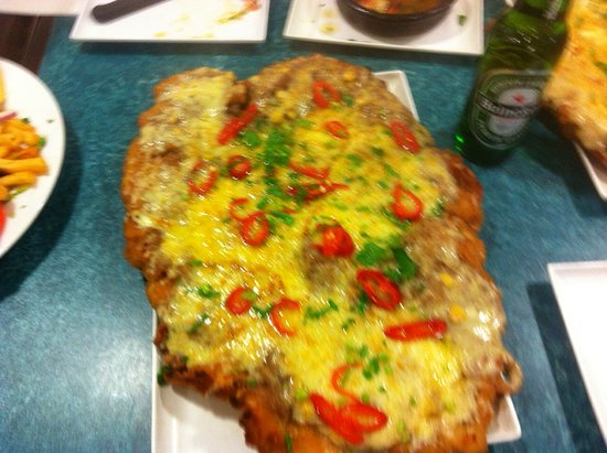 Marrickville, Australia: I think this was the Mexican Schnitzel with chilli