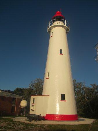 Lady Elliot Island, Australia: Lighthouse at sunset