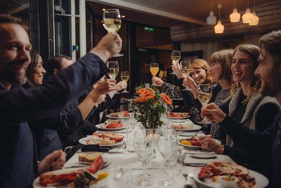 Sigtuna, Suécia: Middag på Stora Brännbo