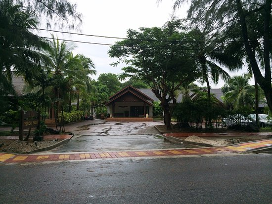 Tropical Resort : Front Gate