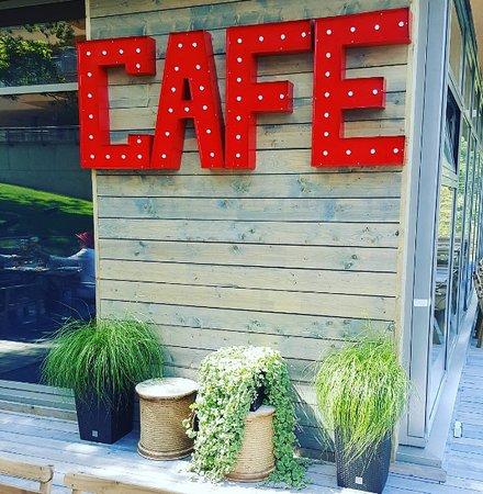 Saulkrasti, ลัตเวีย: Cafe