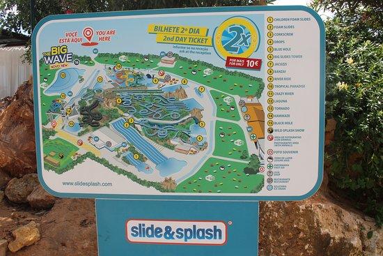 Mapa Slide And Splash Mapa