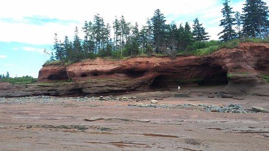 ตรูโร, แคนาดา: Burntcoat Head at low tide