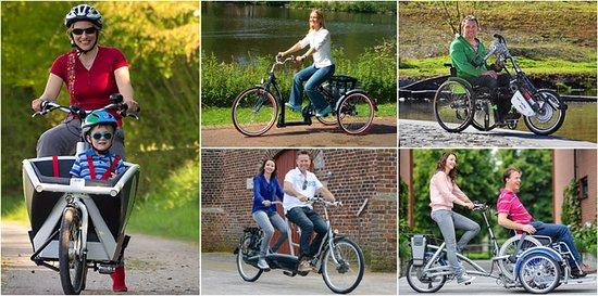 Bogen, Alemania: Barrierefreie Spezialfahrräder Rollstuhl Dreirad Tandem