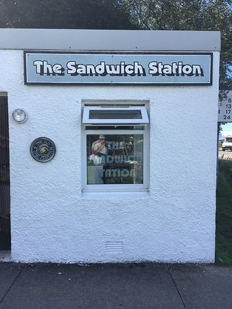 The Sandwich Station: Yesterday's visit!