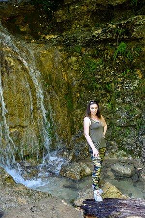 Krasnodar Krai, Rusia: Один из водопадов Гуамсокого ущелья