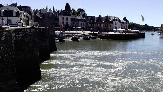 Auray, France: Port de Saint Goustan