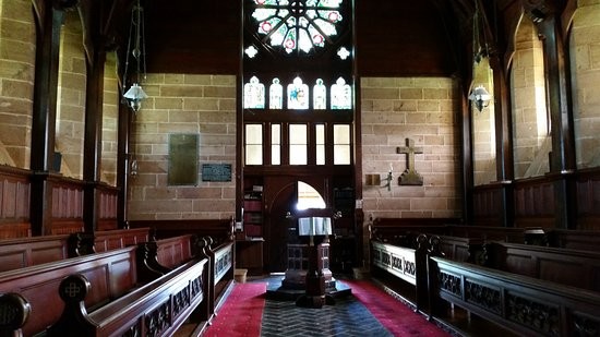 Ilha de Norfolk, Austrália: inside the church