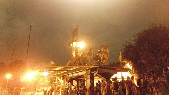 Ganga Aarti at Triveni Ghat : IMG_20140927_183206_large.jpg