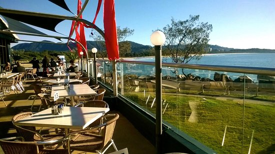Yknot Bistro: The view from Yknot