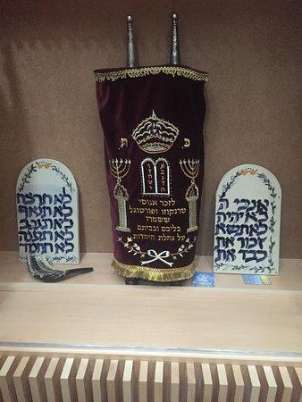 Trancoso, Portugal: La Torá guardada en la Sinagoga