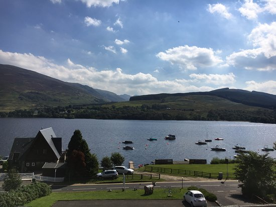 ‪‪Lochearnhead‬, UK: Loch Earn from the restaurant‬