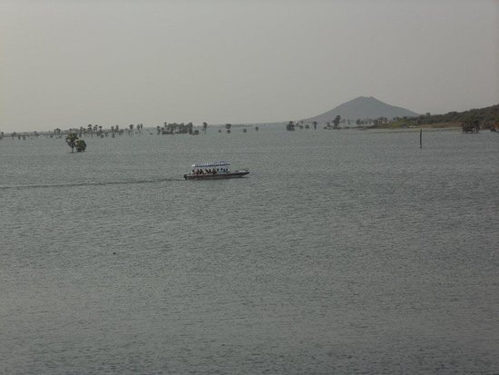 Ongole, India: boating