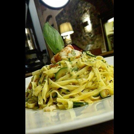 Monsummano Terme, Ιταλία: Tagliolini zucchini e gamberetti