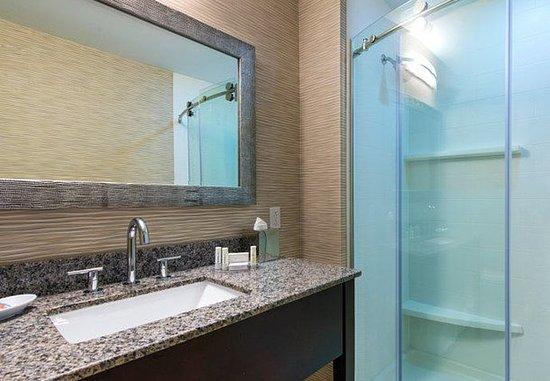 Fairfield Inn Boston Sudbury: Studio King Suite - Bathroom