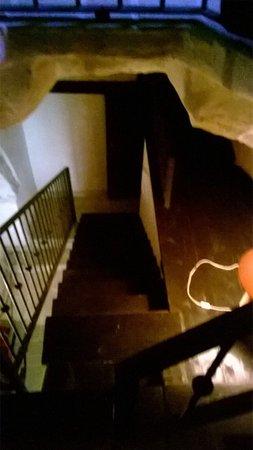 San Vito dei Normanni, Italie : La scala di accesso alla stanza da letto de La Torre