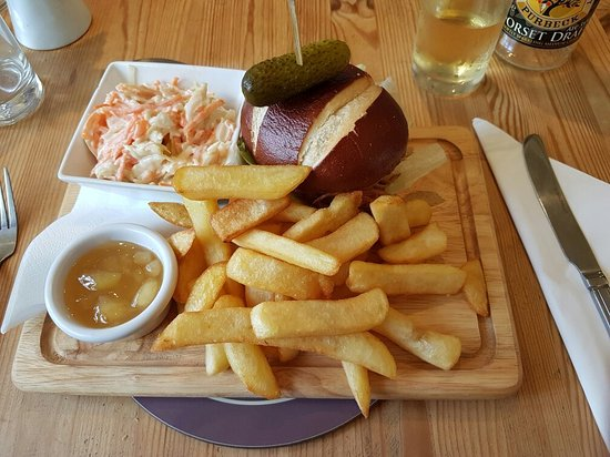 Kimmeridge, UK: Clavell's Cafe