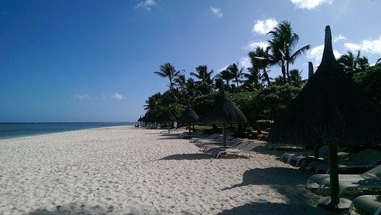 Plage de Flic en Flac coté Sugar Beach Hotel