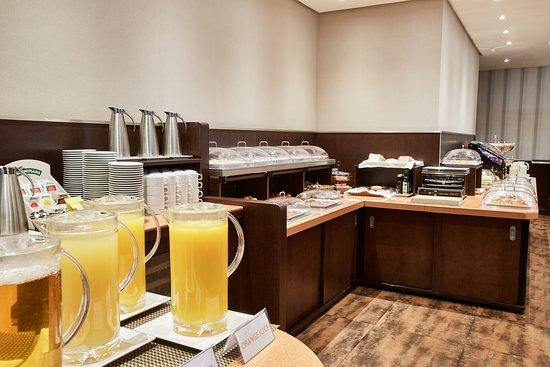 HCC St. Moritz: Buffet breakfast