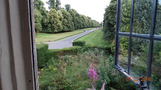 Coombe Abbey Hotel: View from our room 140