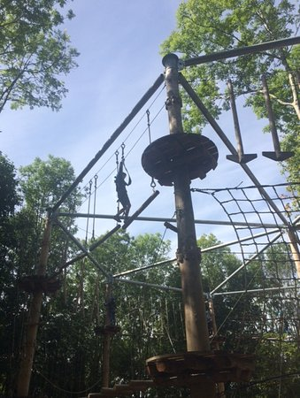 Castlecomer, Ierland: Advanced High Rope Courses