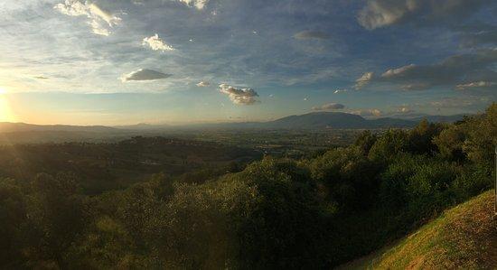 Montefalco, อิตาลี: belvedere